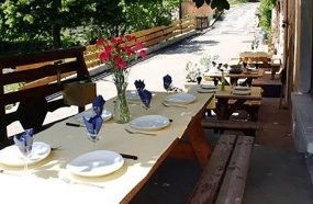 Summer Dining on the Terrace